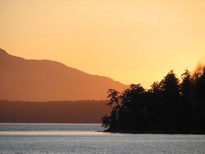 About Gabriola Island Sunset
